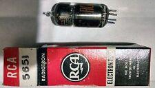 Electronic Tube - 5651 - RCA ELECTRON TUBE - New in Box - NOS