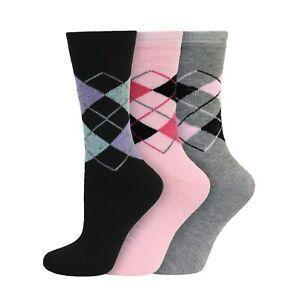 Ladies Womens Thick Warm Winter Jacquard Thermal Fashion Socks UK 4-7, EU 37-40