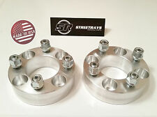 """[SR] 2pc 38mm (1.5"""") Thick 4x4 to 4x4 Wheel Spacers YAMAHA Golf Carts M12x1.25"""