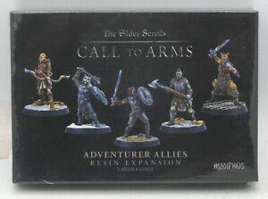 The Elder Scrolls MUH051936 Adventurer Allies (Resin Expansion) Hero Miniatures