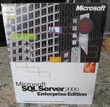 Microsoft SQL Server Enterprise 2000 Edition Inc 1 CPU Processor 810-00963
