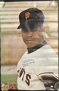 Juan Marichal Signed Poster 24x36 Sports Illustrated Auto + Inscr SF Giants JSA