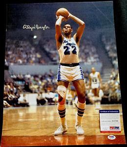 Elgin Baylor Signed autograph LA Lakers 16x20 Photo PSA/DNA Authentic