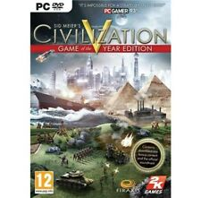 Sid Meier's Civilization V Game Of The Year Edition (5 GOTY) PC ** New & Sealed