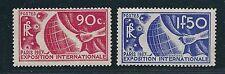 France Scott #319-320 – 1936 Paris Exposition High Values – MNH