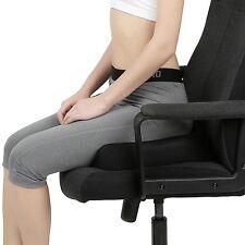 Naipo Cojín de asiento de espuma de memoria coxis confort de asiento de espuma ortopédica Automóvil Cojín