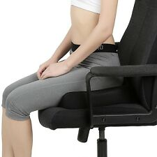 Naipo Memory Foam Seat Cushion Coccyx Orthopedic Comfort Foam Seat Car Cushion