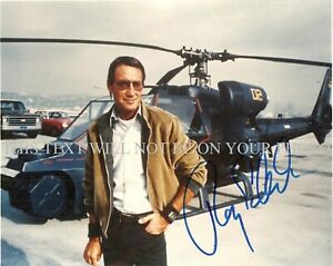 BLUE THUNDER ROY SCHEIDER SIGNED AUTOGRAPH 8X10 RPT PHOTO INCREDIBLE ACTOR