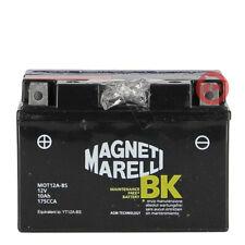 Magneti Marelli MOT12A-BS Batteria Sigillata con Acido per Moto Scooter Quad Cross