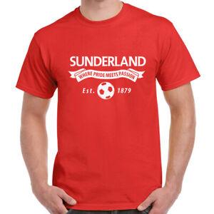 Sunderland Fan Adults T Shirt Football Unofficial Merch Gift Dad Men Him Present