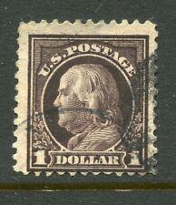 U.S.A....  1908  $1 washington  used