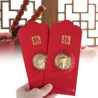 Enveloppe rouge chinoise Creative Hongbao Nouvel An Fête du printemps épouser UV