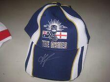 Kevin Pietersen signed Ashes Cricket Cap (Blue) England v Australia.   COA.