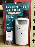 Intermatic WIRELESS ALARM Home Security MOTION SENSOR Program Personal Remote
