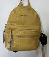 Steve Madden Mustard Logo Mini 2pc Backpack
