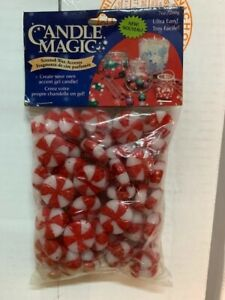 Candle Magic 7oz Scented Wax Accents Christmas Peppermints Sealed