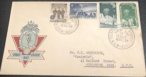 Australia  fdc 1959 Australia Post Office Communications