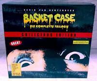 BASKET CASE Die Komplette Trilogie (Cover A) - Bust + 4 DVD+ Bluray + T-shirt XL