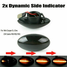 Dynamic Flowing LED Light Side Marker Indicator For BMW MINI Cooper R50 R52 R53