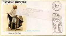 Sobre Primer Día Circulado. Polinesia Francesa. 1985