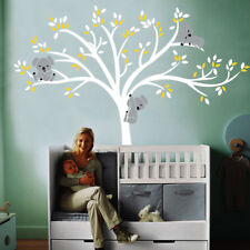 DIY Room Nursery Wall Sticker Kid's Decals Removable Mural Koala Tree Non-Toxic