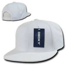 White Dry Air Mesh Cool Dri Fit Flat Bill Golf Snapback Baseball Ball Cap Hat