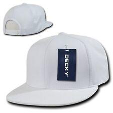 White Dry Air Mesh Cool Dri Fit Flat Bill Golf Snapback Baseball Ball Cap Hat