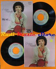 LP 45 7'' CRISTIANO MALGIOGLIO Ma va...Io la pantera 1980 italy RIFI cd mc dvd