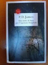 LIBRO ROMANZO P.D. JAMES UNA NOTTE DI LUNA PER L'ISPETTORE DALGLIESH MONDADORI