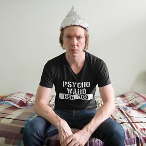 Psycho Ward T-Shirt Funny tee retro humour horror AU SELLER