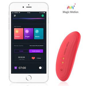 Vibratore da mutandina Magic Motion Nyx ricaricabile Sex Toy con Uso di  App