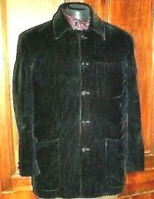 N°41- veste HOMME  taille 52 velours  noir CHARPENTIER