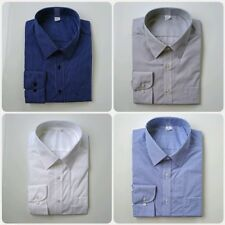 Ex M&S REG FIT COTTON BLEND EASYCARE FORMAL SHIRTS 12 DESIGNS  BNWOT 14.5-18.5