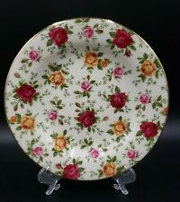 Royal Albert OLD COUNTRY ROSES (CLASSIC IV) Salad Plate NWT