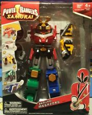 Power Rangers Samurai Megazord 5 Zords Lion Ape Turtle Combine (Sealed Box)