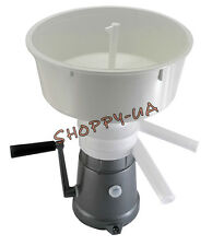 MILK CREAM SEPARATOR MANUAL 50L/H NEW (METAL BODY) *GO GREEN*