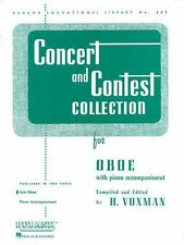 Concert and Contest Collection for Oboe: Solo Part