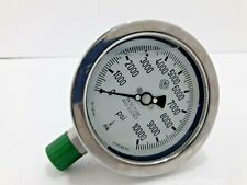 Mc Daniel Controls Inc High Pressure Hydraulic Gauge 10000 Psi New