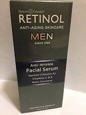 Skincare Cosmetics Retinol Skincare for Men Anti-Wrinkle Facial Serum 1oz New
