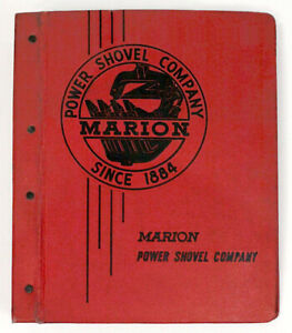 1959 MARION SHOVEL 112-M Shovel Dragline Crane Sales Brochure
