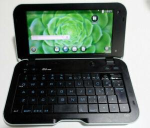 au Sharp IS01 MID Android keyboard smartphone - English UI
