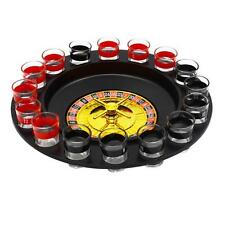 Keimav Spin the Wheel Russian Roulette Drinking Game with 16 Shot Glasses