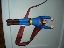 DC Comics Superman 2005 Mattel  Long Cape Polyester Flying Action Figure