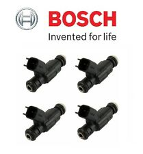 NEW Mini Cooper R50 R52 Set of Four Fuel Injectors OEM Bosch NEW 0-280-155-991