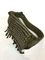 Wild Card Studded Canvas & Leather Belt Fanny Pack Steampunk Festival