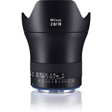 Zeiss Milvus 18mm F / 2.8ZE - Canon COMPATIBLE