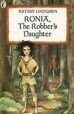 Ronia, the Robber's Daughter by Astrid Lindgren Puffin Books
