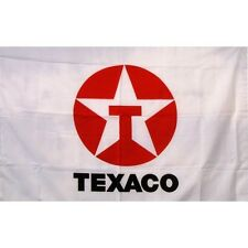 Texaco Gas Oil Flag Banner Sign 2' x 3' Foot Polyester Grommets