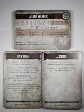 Warhammer Necromunda Escher tácticas y tarjetas de banda