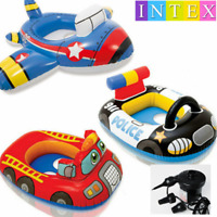 Intex Kids Inflatable Swiming Pool Float Car Plane 71x57cm , for Ages 1-2Y
